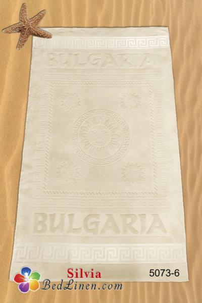Плажна кърпа България - кремава